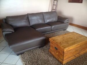 Gorgeous three seater lounge with chaise Ingle Farm Salisbury Area Preview