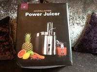 Andrew James power juicer for sale. Brand new