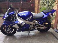 Yamaha Yzf R1 2001 10040 miles