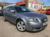 **6 MONTHS WARRANTY** AUDI A3 SPORT 1.6 FSI (2004) - 5 DOOR - NEW MOT - F.S.H - 3 KEYS - HPI CLEAR!