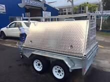 New 8x5 Galvanised Heavy Duty Box Trailer with Tradesman Top Mona Vale Pittwater Area Preview