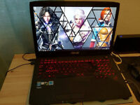 Asus Republic of gamers high spec gaming laptop!