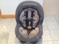 Terrific group 0+1 car seat for newborn upto 18kg(upto 4yrs)-a wide seat -American brand