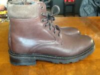 Next- Men Half Boots-Real Leather- Size 8