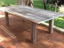Up cycled Patio table with inbuilt ice buckets. Golden Bay Rockingham Area Preview