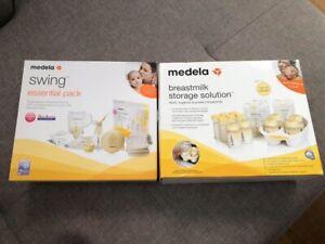 (NEAR NEW) Medela Swing breastmilk storage solution more