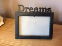 Black Photo Frame Dreams