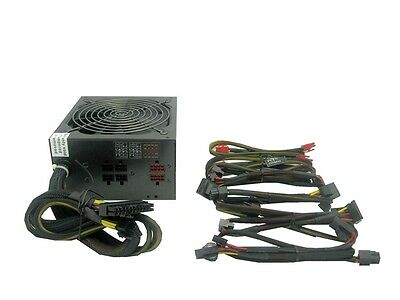 1200Watt MODULAR 140mm Fan Gaming PC ATX 12V Power Supply PCI-E SATA Ready 1000W