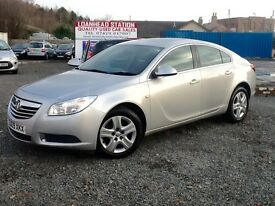 LOW MILAGE --2009 VAUXHALL INSIGNIA EXCLUSIVE--FULL YEAR MOT