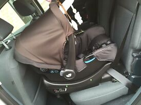Joie Chrome Travel System and iBase