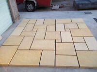 30 square meters of Patio slabs delivered anywhere in Northern Ireland