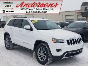 2015 Jeep Grand Cherokee Limited *Heated Cooled Seats/Remote Sta