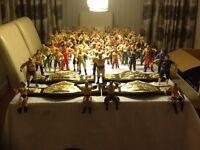 WWE wrestling figures & belts.