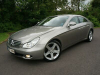 MERCEDES CLS320 CDI COUPE SALOON AUTOMATIC 3.0 V6 DIESEL SILVER