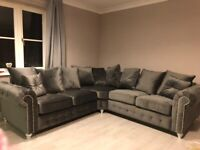 ONE YEAR SOLID LUXURY SOFA BRAND NEW AVAILABLE IN CORNER AND 3+2 ORDER NOW