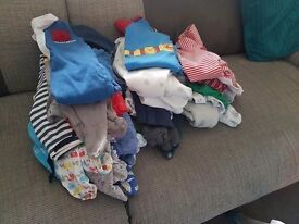 Baby clothes up to 3 months