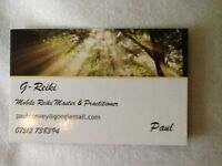 Mobile Reiki Practitioner (master). Full or introduction treatments available. Can travel to client.