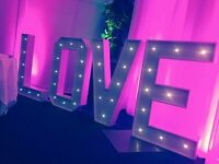 JD Events - magic Mirror, candy cart, love letters...