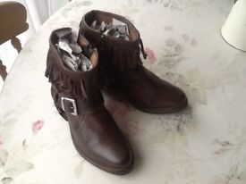All Saints Bonny cowboy style ankle boots 5