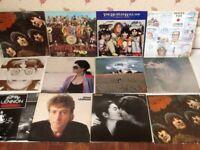 THE BEATLES and John Lennon/yoko ono albums