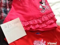 10 ITEMS OF CLOTHING for 2/3 YEARS OLD GIRL