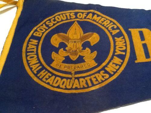 "PENNANT  23  inches - "" BE PREPARED "" - Boy Scout BSA A132/6-19"