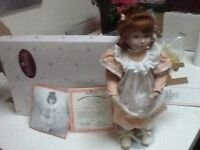 Ashton Drake fine bisque porcelain doll