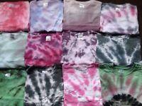 Tye dye T shirts for sale
