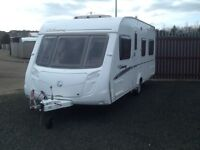 2008 swift colonsay fixed bed 4 berth with fitted mover & awning