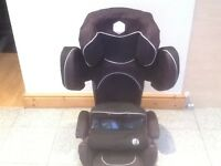 Award winning KIDDY PRO group 1 2 3 full highback height adjustable car seat for 9kg-36kg(to 12yrs)