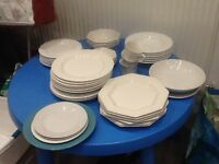 China plates bowls cups etc