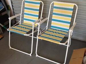 Lightweight beach chairs Ettalong Beach Gosford Area Preview