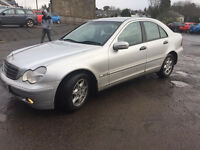 D.I.E.S.E.L. MERCEDES' C220 CDTI, 2003,MODEL 170K, 10 MONTH M,O,T, £999 DRIVE'S SUPERB