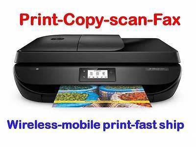 "NEW HP OfficeJet 4655/4650 Wireless Printer-scan-copy-Fax+2.2""LCD Screen"