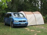 Mercedes Vito Campervan with large awning and new MoT