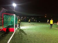 Monday Football in Beckton, East London. Casual 7-a-side game. Looking for new players