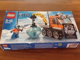 Lego City 60033 Artic Ice Crawler boxed and complete