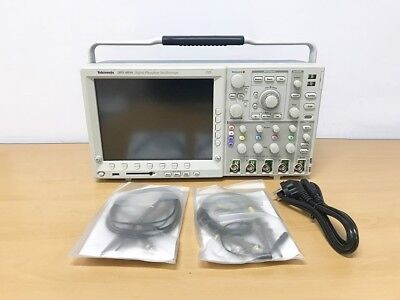 Tektronix Dpo4034 350mhz 2.5gss 4ch Oscilloscope With P6300 Probes