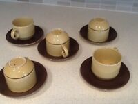 1970cups and saucers