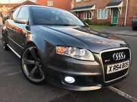"2006 AUDI RS4 QUATTRO B7 SALOON DAYTONA GREY 20"" CONCAVED ROTAR ALLOYS NOT M5 RS3 RS6 C63 IMMACULATE"