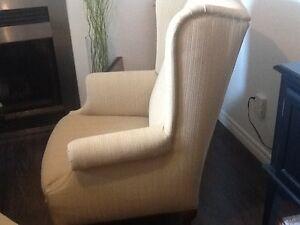 chaise avec pouf West Island Greater Montréal image 1