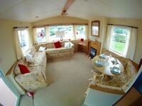 CHEAP STATIC CARAVANS FOR SALE , HOLIDAY HOME , 3 BEDROOM , 8 BIRTH , NORTH EAST , SEA VIEWS