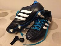 Adidas football boots, size 7