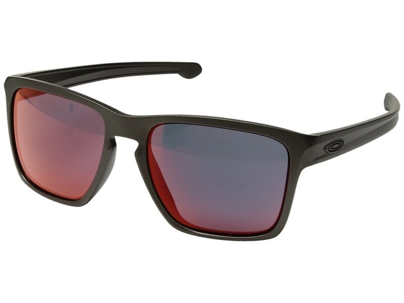 Oakley XL Asian Fit Lead Polycarbonate Frame Torch Iridium Lens Mens Sunglasses