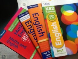Years 5 and 6 English and Maths practice books