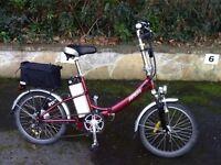 Breeze Batribike Electric folding bike