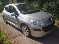 2007 PEUGEOT 207 1.4 HDI EXCELLENT ON FUEL £30 A YEAR TAX CHEAP INSURANCE VERY CLEAN CAR NEW MOT