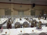 Lace and Hessian Sashes x 100 -Preloved Excellant condition