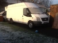 2008 FORD TRANSIT JUMBO SPARES OR REPAIR £1000ono