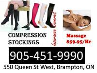 Compression Stocking, Open 7 days a week